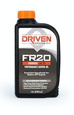 Driven Racing Oil 03006 FR20 Synthetic 5W-20 Performance Motor Oil (1 qt. bottle)