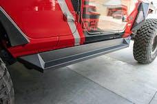 DV8 Offroad SRJL-04 Jeep JL Plated Side Step/Slider 18-Present Wrangler JL
