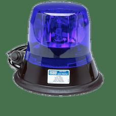 ECCO 5813B-MG 5800 Series Low-Profile Rotating Halogen Beacon (Magnet Mount, Blue)