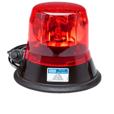 ECCO 5813R-MG 5800 Series Low-Profile Rotating Halogen Beacon (Magnet Mount, Red)