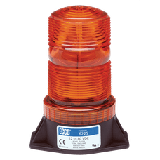 ECCO 6220G 6220 Series Low-Intensity Flashtube Strobe Beacon (2-Bolt Mount, Green)