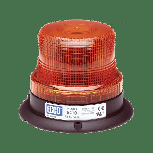 ECCO 6410G 6410 Series Low-Profile Flashtube Strobe Beacon (3-Bolt Mount, Green)