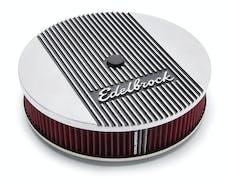 Edelbrock 4266 Elite Series Aluminum Air Cleaner