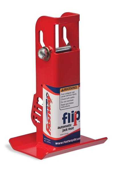 """Fastway 88-00-6500 6"""" Flip Automatic Jack Foot - For 2.25"""" Jack"""