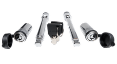 """Fastway 86-00-4225 2.5"""" Flash Solid Steel HD Dual Lock Pack - 2 Keys"""