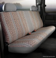 FIA TR47-7 GRAY TR Front Bench Seat Cover Gray