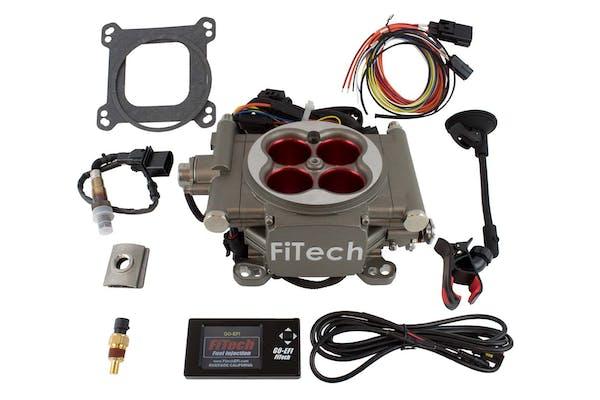 FiTech 30003 Go Street EFI System Kit (Cast Finish, 400 HP)