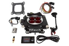 FiTech 30004 Go EFI 4 Power Adder System Kit (Matte Black, 600 HP)