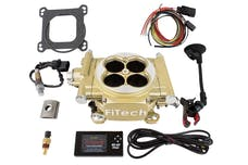FiTech 30005 Easy Street EFI System Kit (Gold, 600 HP)