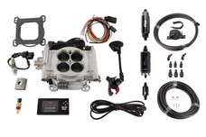 FiTech 31001 Go EFI 4 System Master Kit (Aluminum, 600 HP, Inline Fuel Pump)