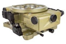 FiTech 37001 Retro LS EFI System Kit (Classic Carburetor Gold, 600 HP, Trans Control)