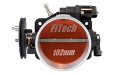 FiTech 70062 Loaded LS Throttle Body Cast 102mm