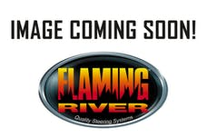 Flaming River FR325MNLRHD Rack and Pinion Kit: 55-56 Chevy RHD Manual OEM Mill Finish Floorshift Column