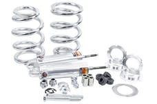 Flaming River FR70001 Mustang II Front Coil-Over Dual Adjustable Shocks Kit - 375 lbs. Spring Rate