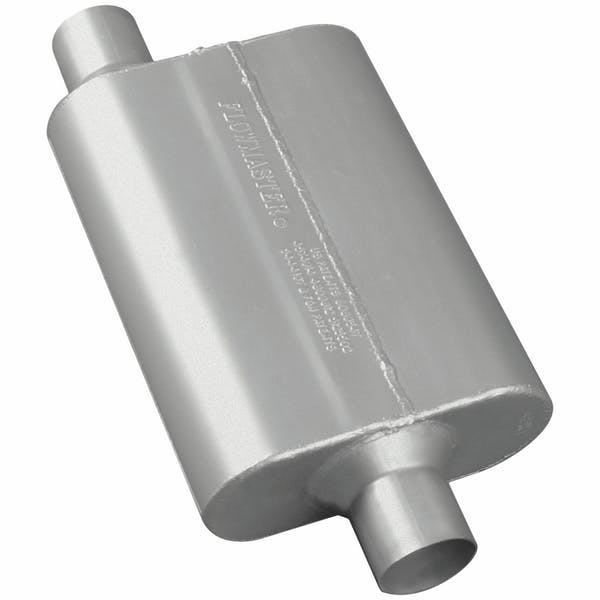 Flowmaster 42441 40 Series Muffler-2.25 Offset In/2.25 Center Out-Aggressive Sound