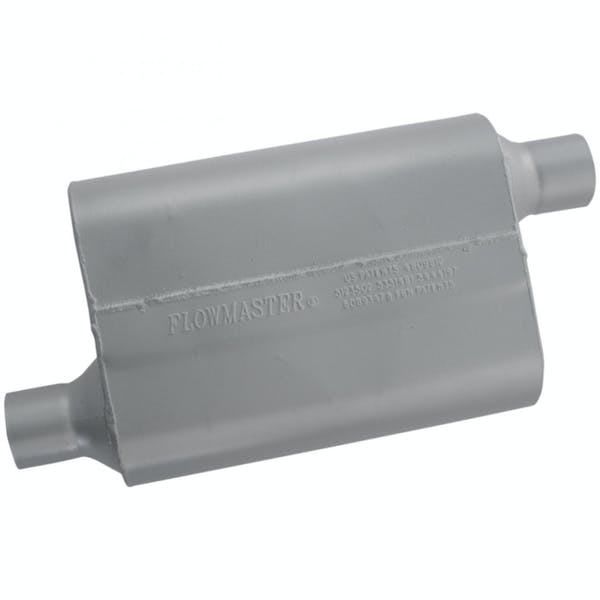 Flowmaster 42443 40 Series Muffler-2.25 Offset In/2.25 Offset Out-Aggressive Sound