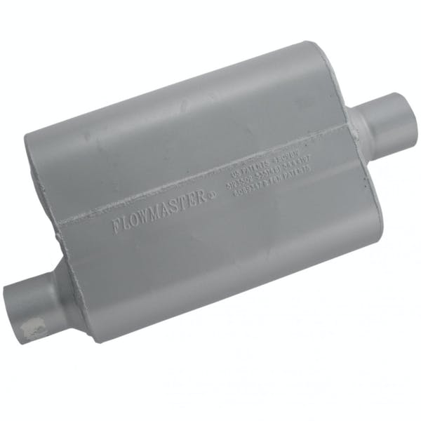 Flowmaster 42541 40 Series Muffler-2.50 Offset In/2.50 Center Out-Aggressive Sound