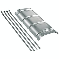 Flowmaster 51022 Heat Shield Kit For 70 Series Big Block II Muffler