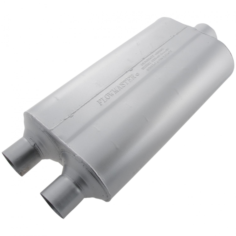 2.50 Center IN Moderate Sound 2.50 Center OUT Flowmaster 52555 Super 50 Muffler