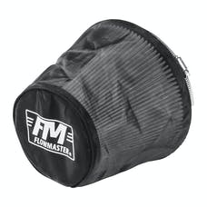 Flowmaster 615002 Universal Air Filter Wrap, Synthetic Cloth, Black