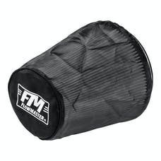 Flowmaster 615004 Universal Air Filter Wrap, Synthetic Cloth, Black