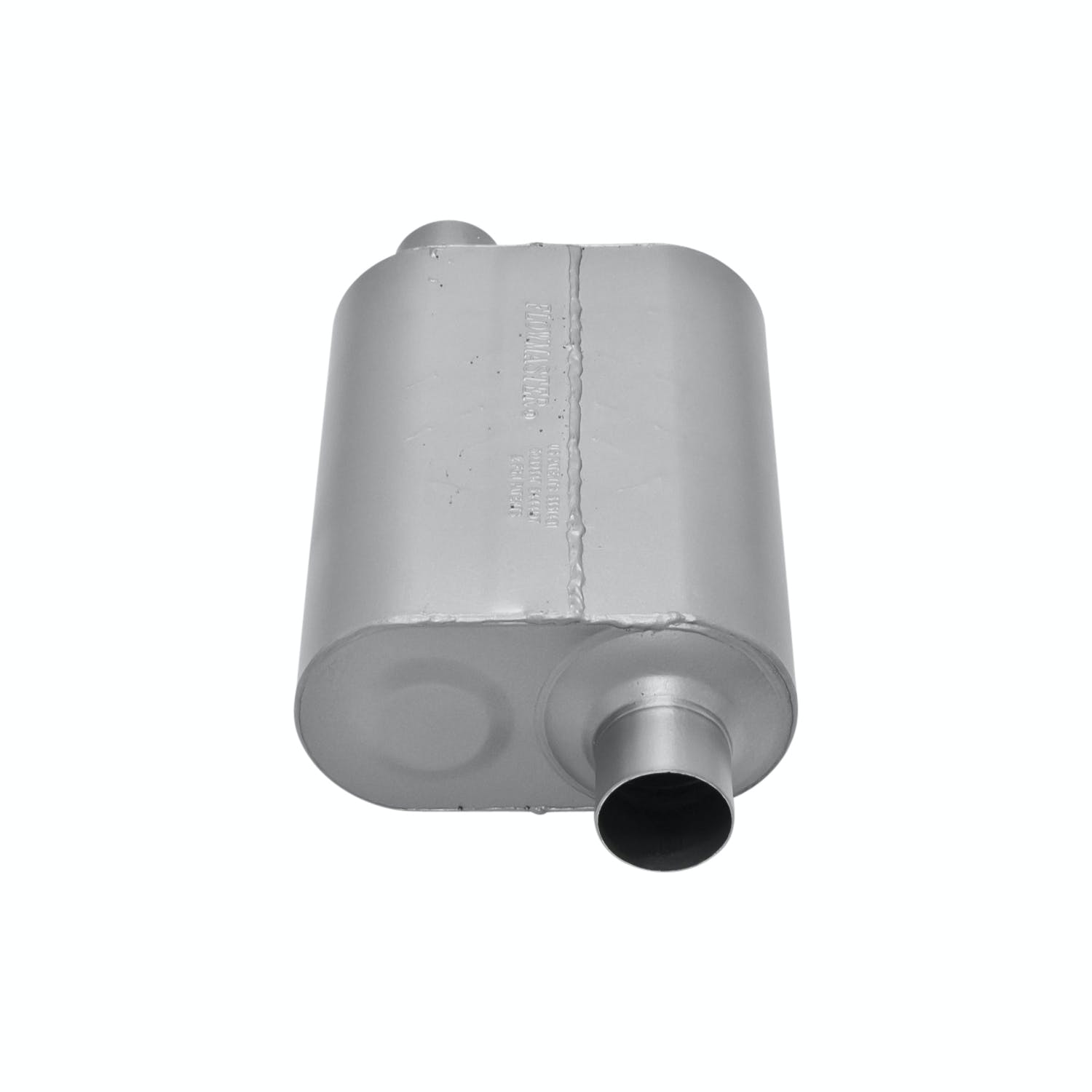 3.00 Offset OUT Moderate Sound Flowmaster 853057 Super 50 Muffler 409S 3.00 Center IN