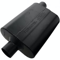 Flowmaster 942547 Super 44 Muffler-2.50 Center In/2.50 Offset Out-Aggressive Sound