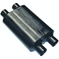 Flowmaster 9525454 Super 40 Muffler-2.50 Dual In/2.50 Dual Out-Aggressive Sound