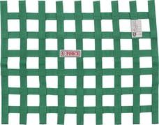 G-FORCE Racing Gear 4131GN RIBBON WINDOW NET SFI 27.1 GREEN