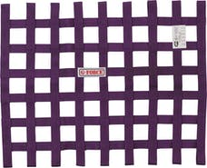 G-FORCE Racing Gear 4131PU RIBBON WINDOW NET SFI 27.1 PURPLE
