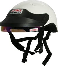 G-FORCE Racing Gear 4412XXLWH GFPRO CREW HELMET XX-LARGE WHITE