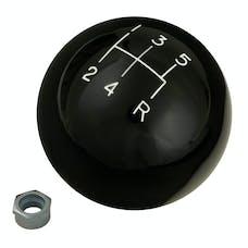 Hurst 1630108 Shift Knob-Black 5 Speed 3/8-16 Threads