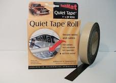 Hushmat 30300 Quiet Tape Shop Roll has 1 in x 20 ft soft pliable single sided foam tape roll