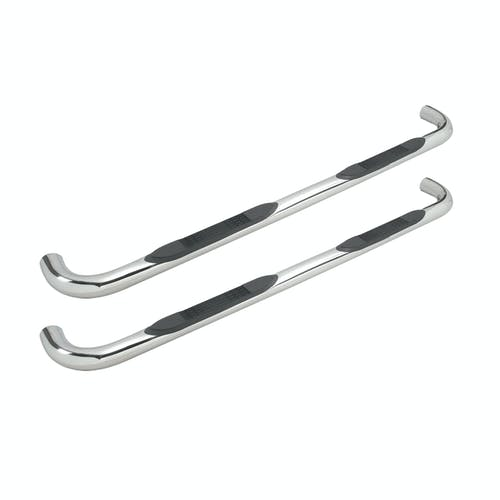 Iconic Accessories 113-0013 Step Bar 3in Round Stainless Steel