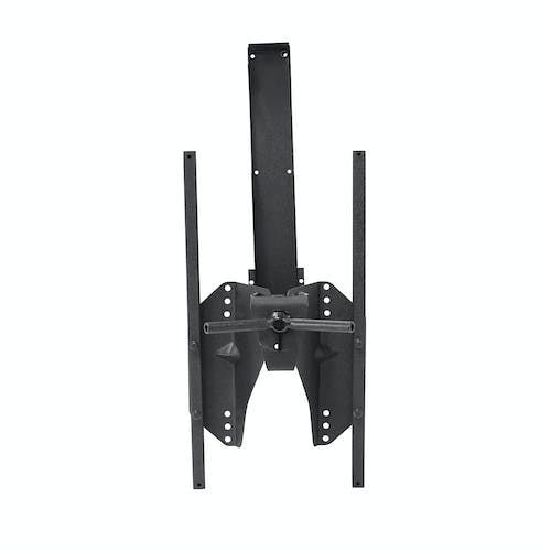 Iconic Accessories 233-5402 Textured Black Oversized Tire Carrier