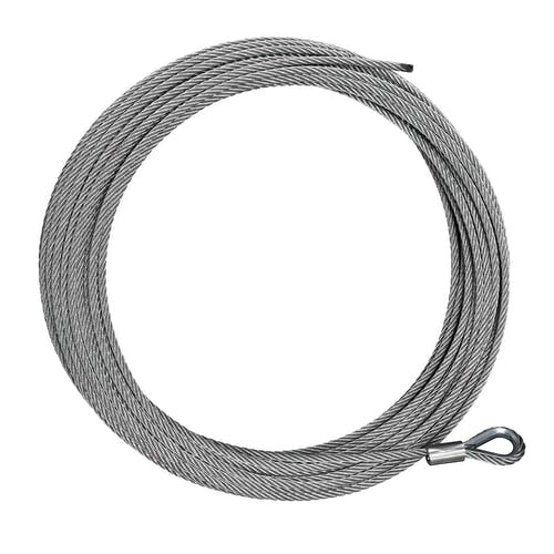"""Iconic Accessories 431-82217 Cable Replacement 3/16"""" x 41' length rated at 3,000 lbs for utility winches"""