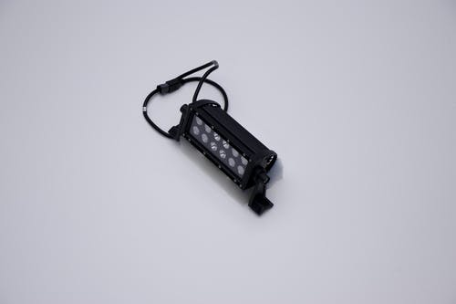 "Iconic Accessories 512-1061 6"" LED Light Bar Black Face Str, Dbl Row, Combo Flood/Beam 36w 3,600 Lumens"