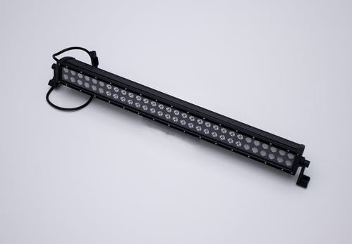 "Iconic Accessories 512-1301 30"" LED Light Bar Black Face Str, Dbl Row, Combo Flood/Beam 180w 14,400 Lumens"