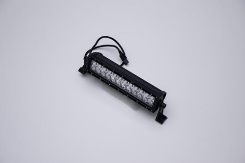 "Iconic Accessories 513-1121 12"" LED Light Bar Str, Dbl Row, Combo Flood/Beam 72w 5,760 Lumens"