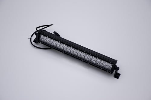 "Iconic Accessories 513-1201 20"" LED Light Bar Str, Dbl Row, Combo Flood/Beam 120w 9,600 Lumens"