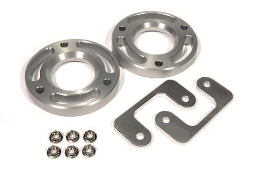 "Iconic Accessories 611-1804 2.25"" 6 Lug Front Leveling Kit Aluminum"