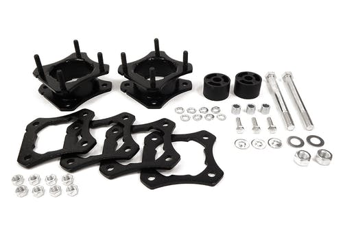 """Iconic Accessories 611-4801 2.5-3"""" Front Leveling Strut Extensions"""