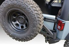 Iron Cross Automotive GP-2200 Stubby Rear Bumper With Tire Carrier