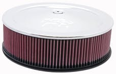 K&N 60-1235 Round Air Filter Assembly