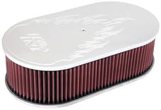 K&N 66-1460 Oval Air Filter Assembly