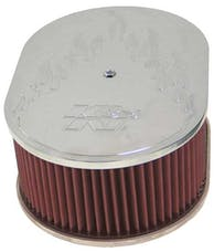 K&N 66-1520 Oval Air Filter Assembly