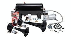 Kleinn Automotive Air Horns HK5 Pro Blaster™ Dual Train Horn Kit w/150 PSI Sealed Air Compressor/1.5 gal tank