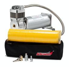 Kleinn Automotive Air Horns JK6450 6450RC Compressor Upgrade for JL-JK-OBA with compressor; and tire inflator