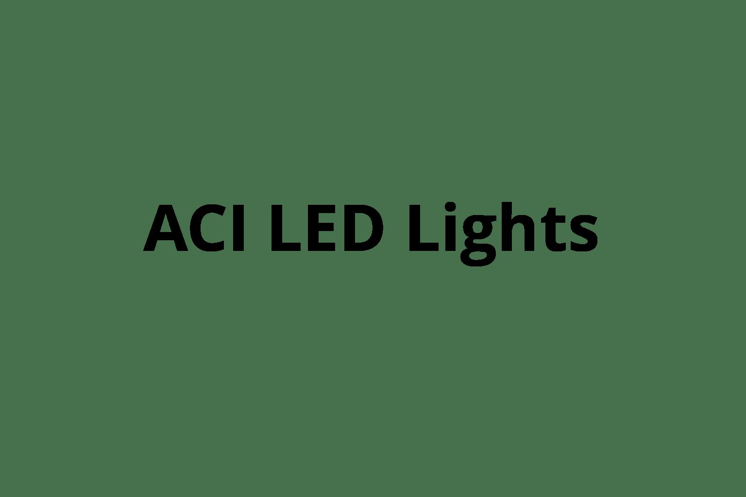 ACI LED LIghts