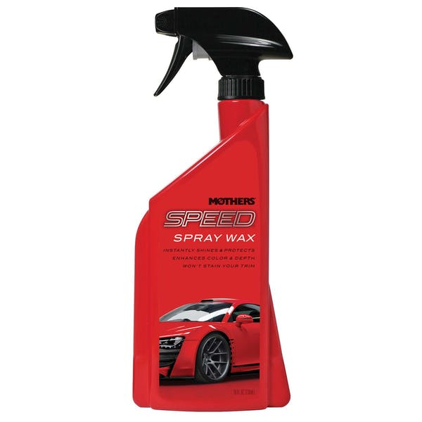 Mothers 15724 Speed Spray Wax 24oz